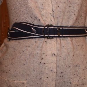 Abercrombie and Finch belts